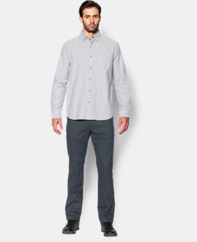Best Seller Men's UA Performance Chino – Tapered Leg  3 Colors $79.99