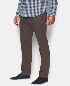 Men's UA Performance Chino – Tapered Leg  3 Colors $89.99