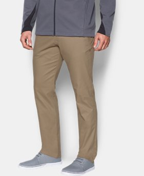 Best Seller  Men's UA Performance Chino — Tapered Leg  3 Colors $89.99
