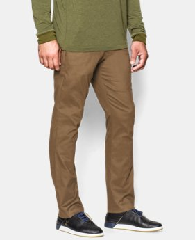 Men's UA Performance Chino – Tapered Leg LIMITED TIME: FREE U.S. SHIPPING 1 Color $44.99 to $59.99