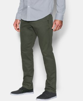 Men's UA Performance Chino — Tapered Leg  1 Color $55.99 to $59.99