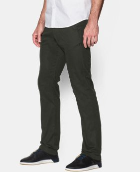 Men's UA Performance Chino — Tapered Leg  2 Colors $47.99 to $59.99