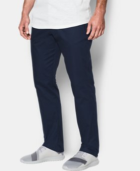 Best Seller Men's UA Performance Chino — Tapered Leg  6 Colors $79.99