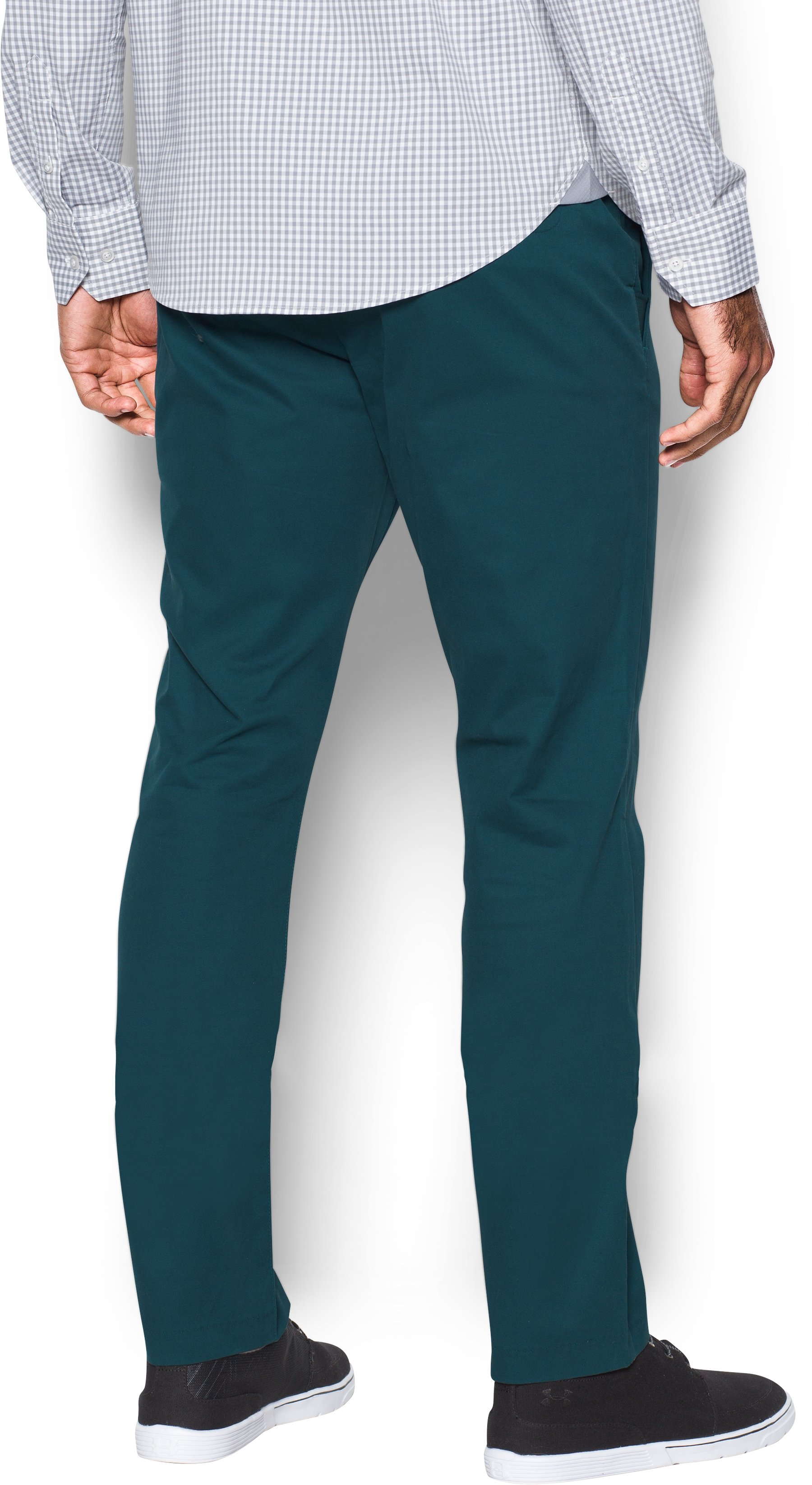 Men's UA Performance Chino — Tapered Leg, NOVA TEAL, undefined
