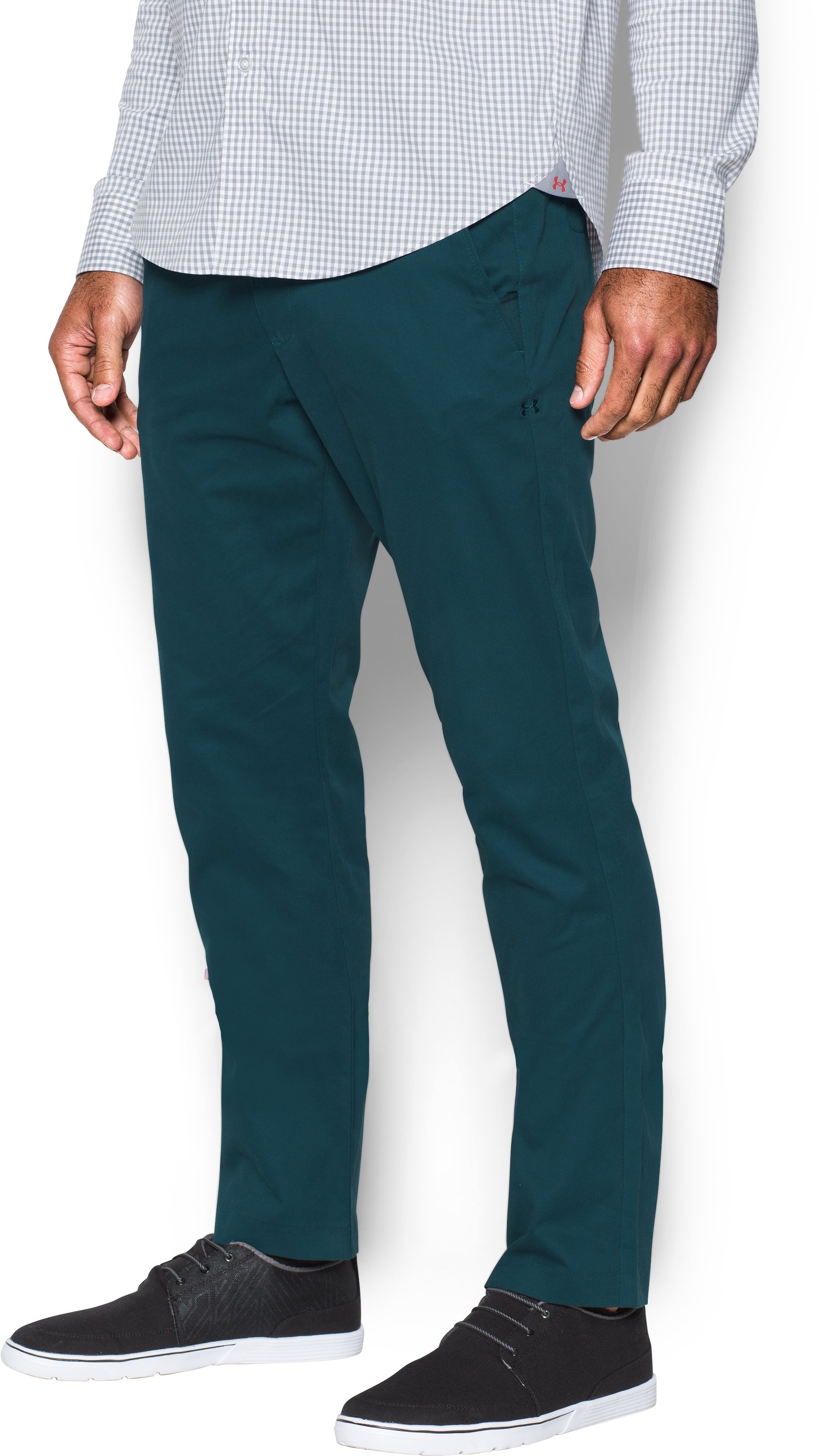 Men's UA Performance Chino — Tapered Leg, NOVA TEAL