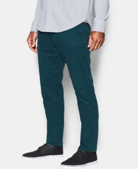 Men's UA Performance Chino – Tapered Leg  5 Colors $67.99