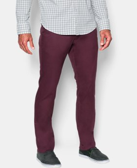 Best Seller  Men's UA Performance Chino — Tapered Leg  2 Colors $89.99