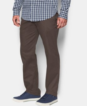 Men's UA Performance Chino – Straight Leg  4 Colors $89.99