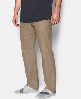 Men's UA Performance Chino — Straight Leg  6 Colors $47.99 to $59.99