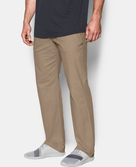 Best Seller  Men's UA Performance Chino – Straight Leg  4 Colors $89.99