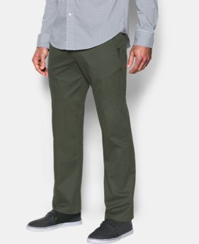 Best Seller  Men's UA Performance Chino   5 Colors $89.99