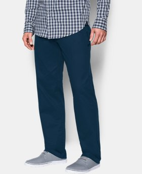 Men's UA Performance Chino – Straight Leg LIMITED TIME: FREE SHIPPING 1 Color $89.99