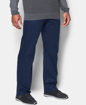 Best Seller Men's UA Performance Chino — Straight Leg  5 Colors $79.99