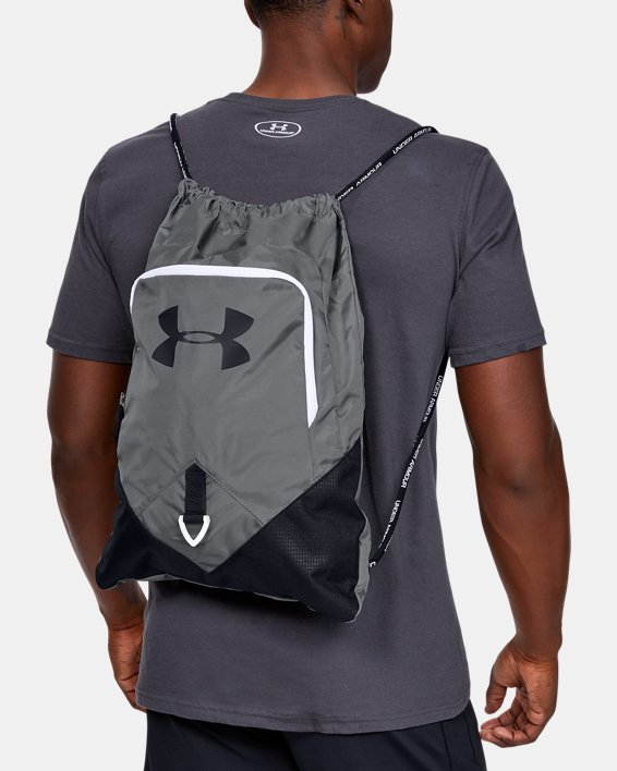 Under Armour Undeniable Sackpack (Graphite/Black/White)