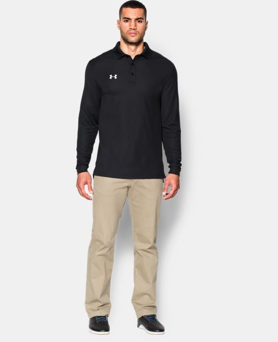 Men's UA Performance Long Sleve Polo  3 Colors $64.99