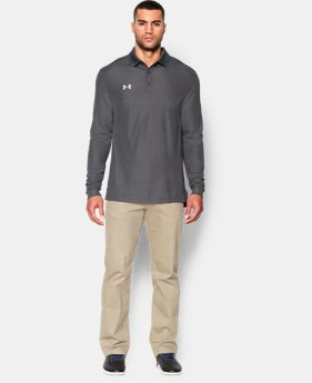 Men's UA Performance Long Sleve Polo  1 Color $64.99