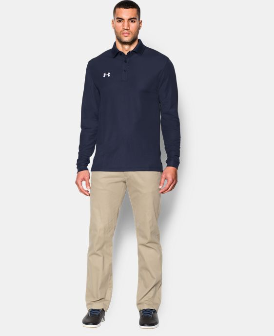 Men's UA Performance Long Sleve Polo  4 Colors $64.99