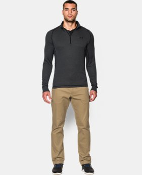 Men's UA Charged Wool Trek ¼ Zip  1 Color $94.99