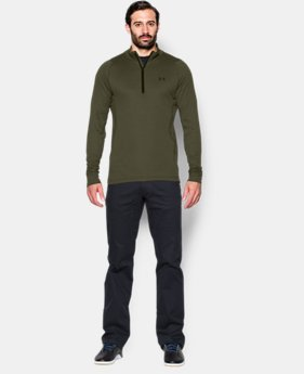 Men's UA Charged Wool Trek ¼ Zip