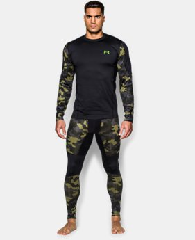 Men's UA ColdGear® Evo Night Vision Hybrid Mock