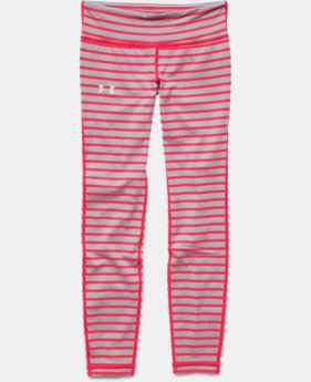 Girls' UA Stripe Leggings