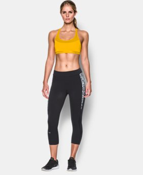 New to Outlet Women's Armour® Breathe Sports Bra  1 Color $15.74 to $26.99