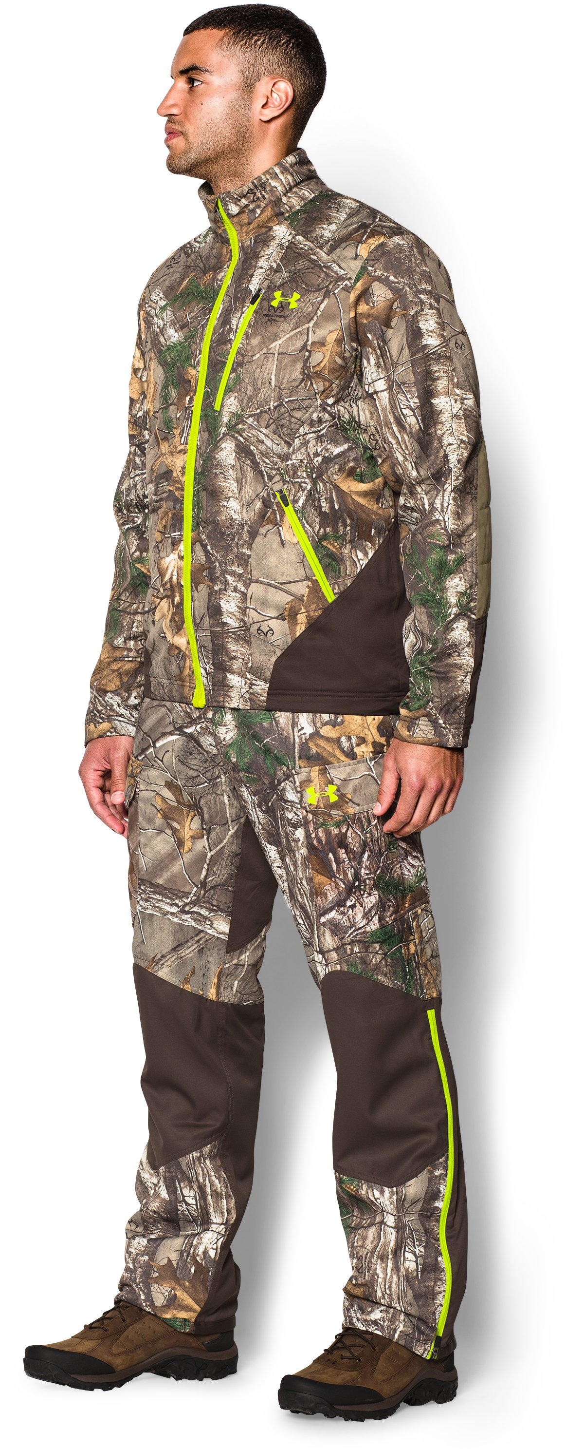 Men's UA Storm Scent Control Barrier Jacket, REALTREE AP-XTRA, undefined