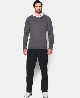 Men's UA Storm SweaterFleece Golf V-Neck