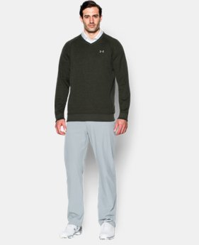 Men's UA Storm SweaterFleece Golf V-Neck  1 Color $41.99 to $52.99
