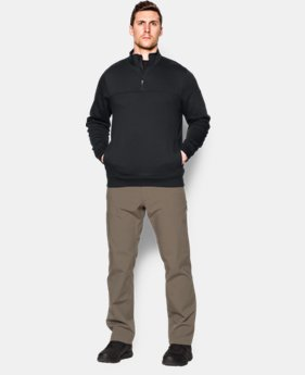 New Arrival  Men's UA Storm TAC Job Fleece Crew LIMITED TIME: FREE SHIPPING 1 Color $94.99