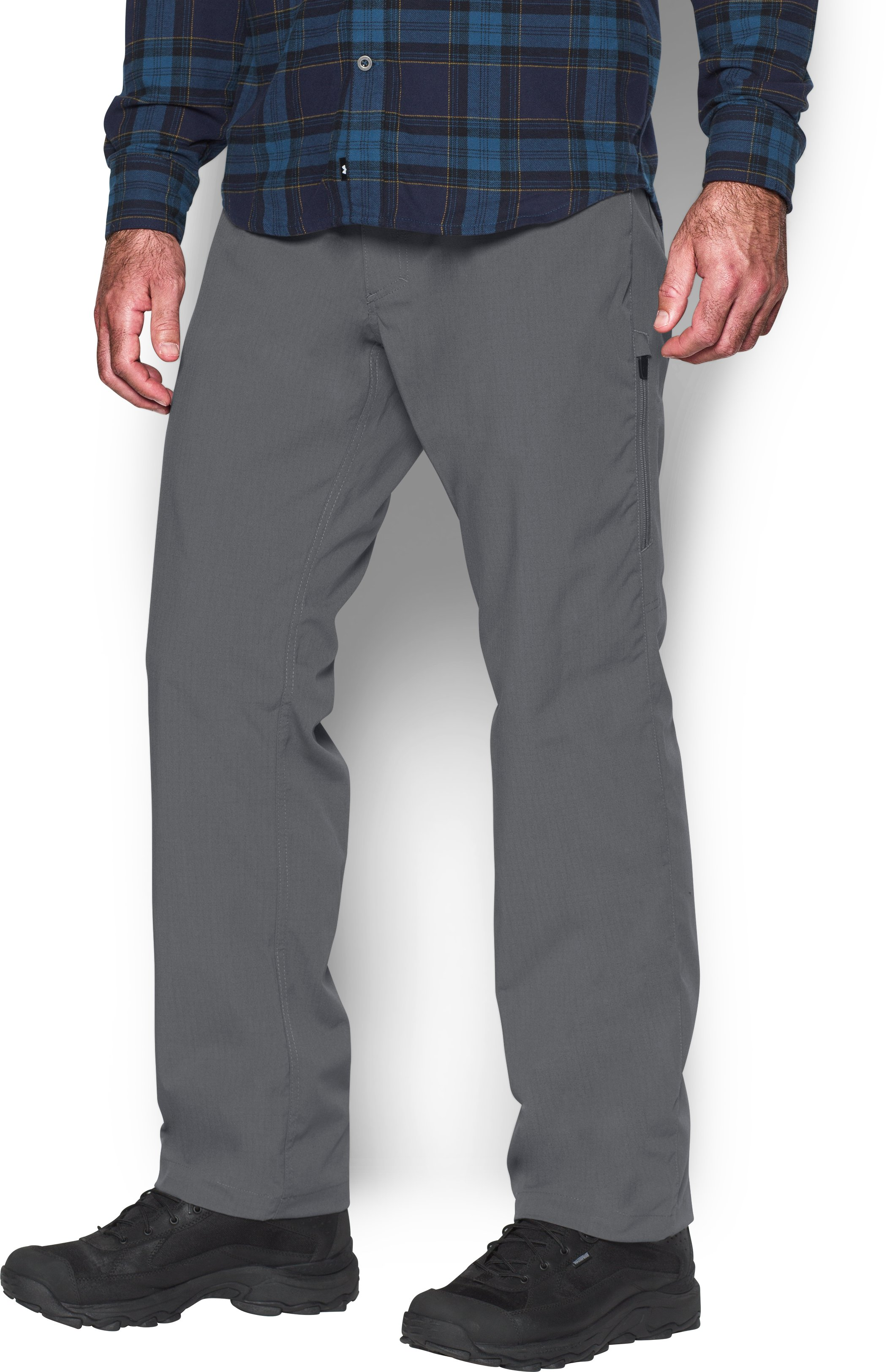 Men's UA Storm Covert Tactical Pants, Graphite, undefined