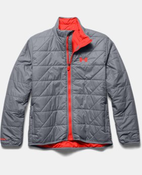 Boys' UA Storm ColdGear® Infrared Micro Jacket