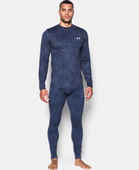 Men's UA ColdGear® Armour Printed Crew  1 Color $64.99