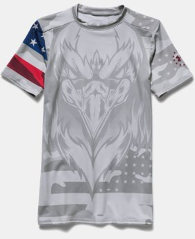 Boys' Under Armour® Alter Ego Freedom USA Fitted Shirt