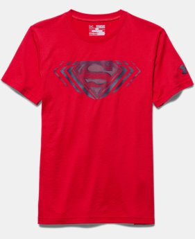 Boys' Under Armour® Alter Ego Superman Reflective T-Shirt