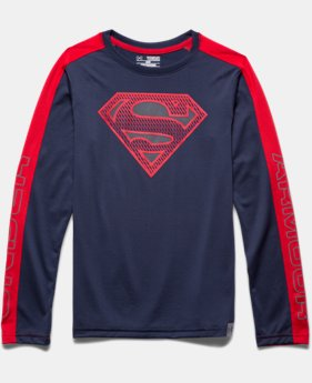 Boys' Under Armour® Alter Ego Superman Reflective Long Sleeve