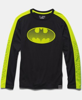 Boys' Under Armour® Batman Refective Long Sleeve T-Shirt