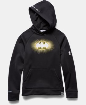 Boys' Under Armour® Alter Ego Batman Glow-In-The-Dark Storm Hoodie