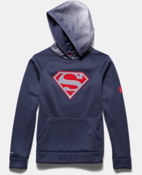 Boys' Under Armour® Alter Ego Superman Reflective Hoodie