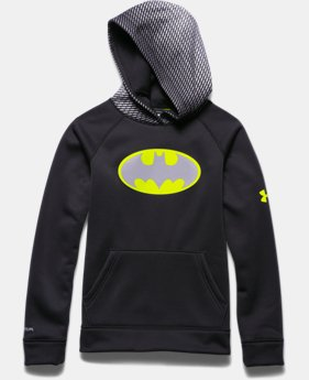 Boys' Under Armour® Alter Ego Batman Reflective Storm Hoodie