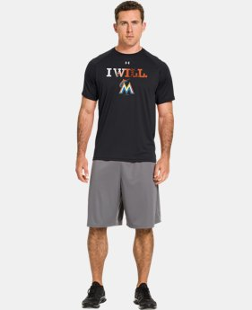 Men's Miami Marlins UA Tech™ T-Shirt LIMITED TIME: FREE U.S. SHIPPING 1 Color $26.99