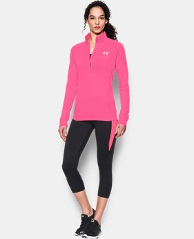 Women's UA Tech™ 1/2 Zip  1 Color $33.99