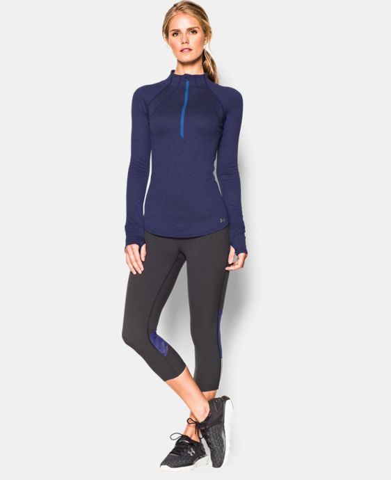 Women's UA Charged Wool 1/2 Zip LIMITED TIME: FREE U.S. SHIPPING 1 Color $104.99