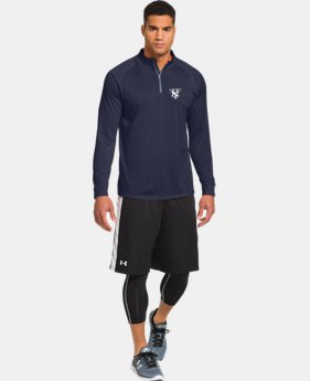 Men's New York Yankees UA Tech™ ¼ Zip  1 Color $41.99