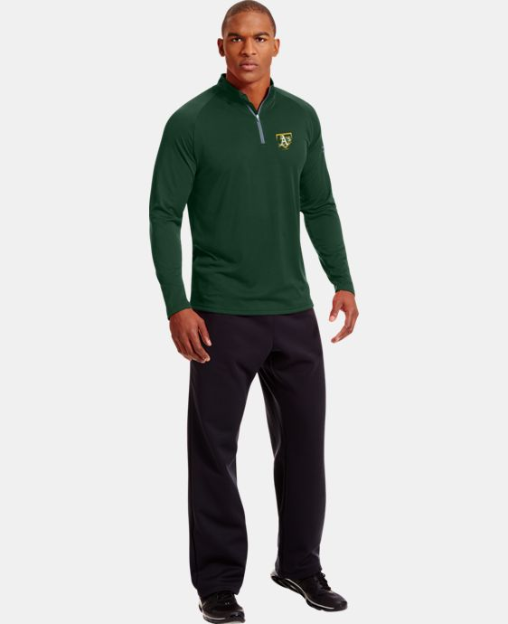 Men's Oakland Athletics UA Tech™ ¼ Zip LIMITED TIME: FREE U.S. SHIPPING 1 Color $41.99