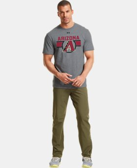 Men's Arizona Diamondbacks Charged Cotton® Tri-Blend T-Shirt LIMITED TIME: FREE U.S. SHIPPING  $26.99