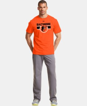 Men's Baltimore Orioles Charged Cotton® Tri-Blend T-Shirt LIMITED TIME: FREE U.S. SHIPPING  $26.99