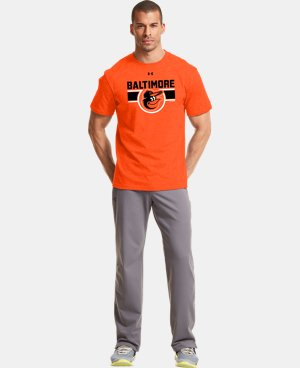 Men's Baltimore Orioles Charged Cotton® Tri-Blend T-Shirt  1 Color $26.99
