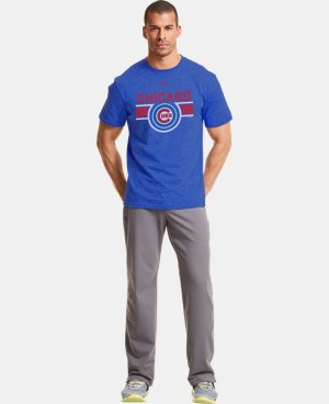 Men's Chicago Cubs Charged Cotton® Tri-Blend T-Shirt  1 Color $26.99
