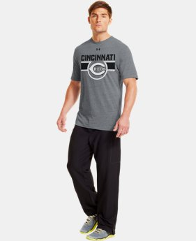 Men's Cincinnati Reds Charged Cotton® Tri-Blend T-Shirt LIMITED TIME: FREE U.S. SHIPPING 1 Color $26.99